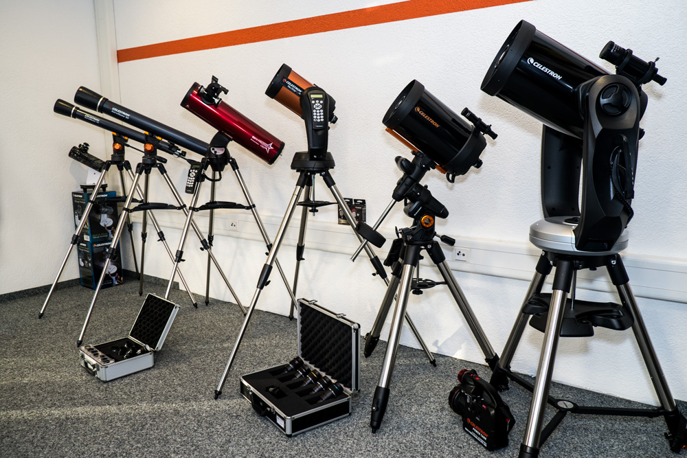 teleskope fernrohr telescop sternenbeobachtung celestron astronomie. Black Bedroom Furniture Sets. Home Design Ideas